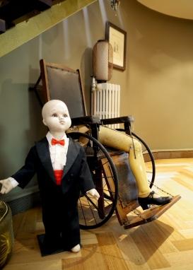 """Mr Chubby Chops"" - Antique child mannequin c1930s"